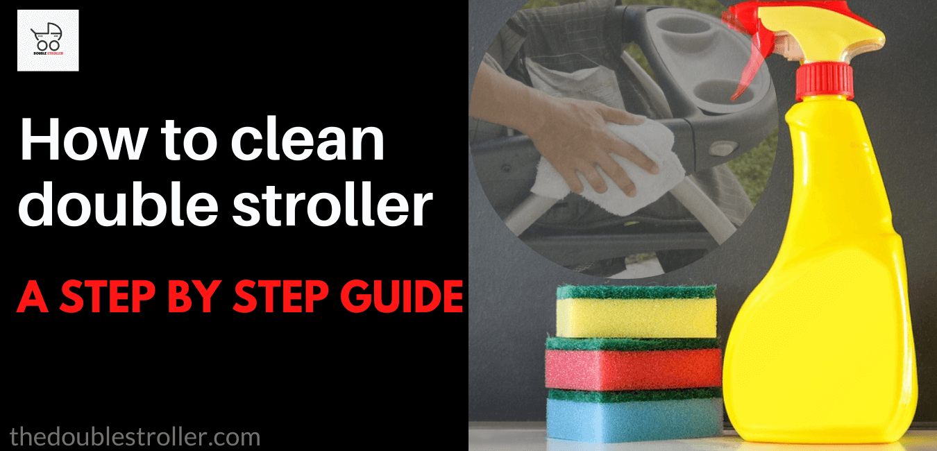How to clean double stroller